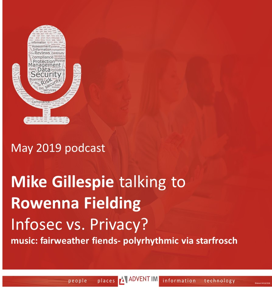 Advent IM Infosec and Privacy podcast