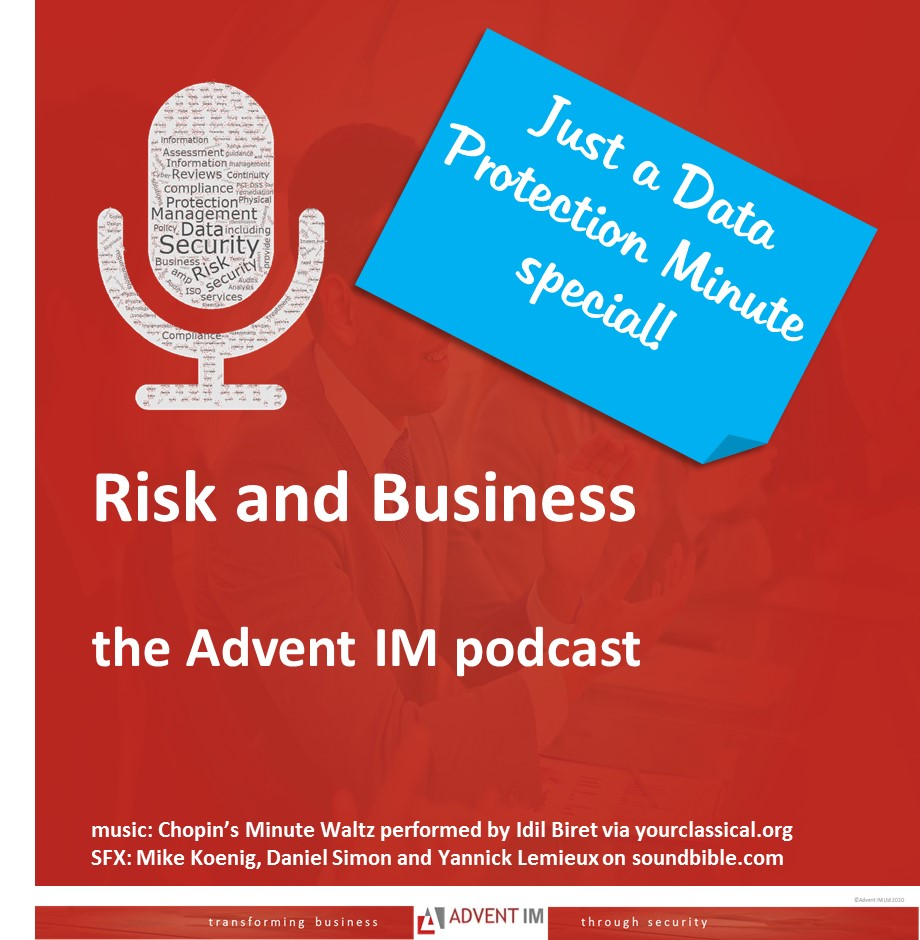 a data protection podcast with a difference