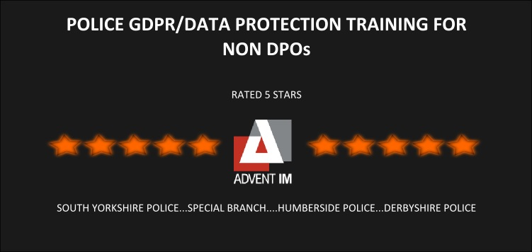 Police GDPR/Data Protection Training for Non DPOs
